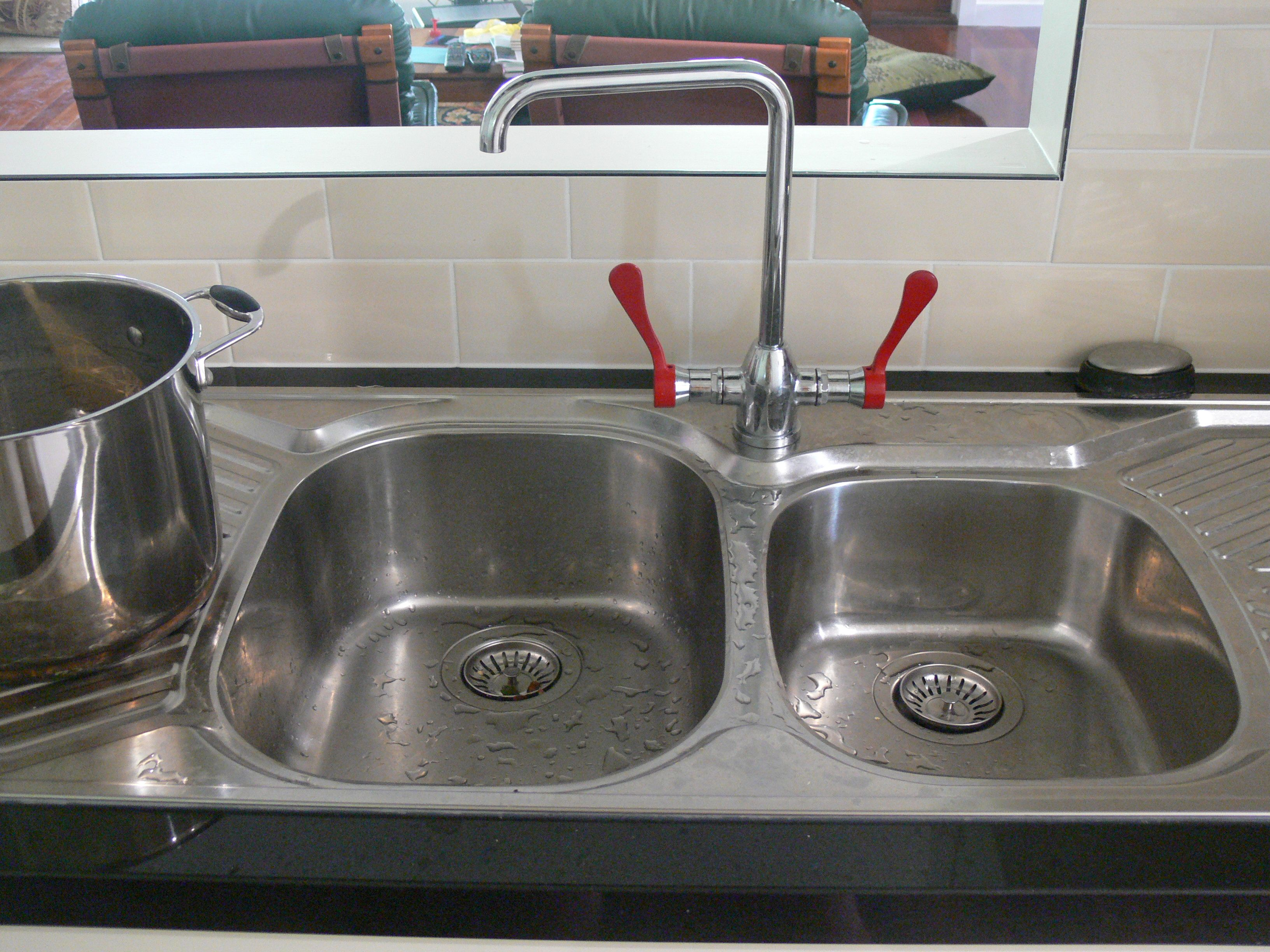 Brodware Memphis kitchen taps and double sink are perfect in our ...