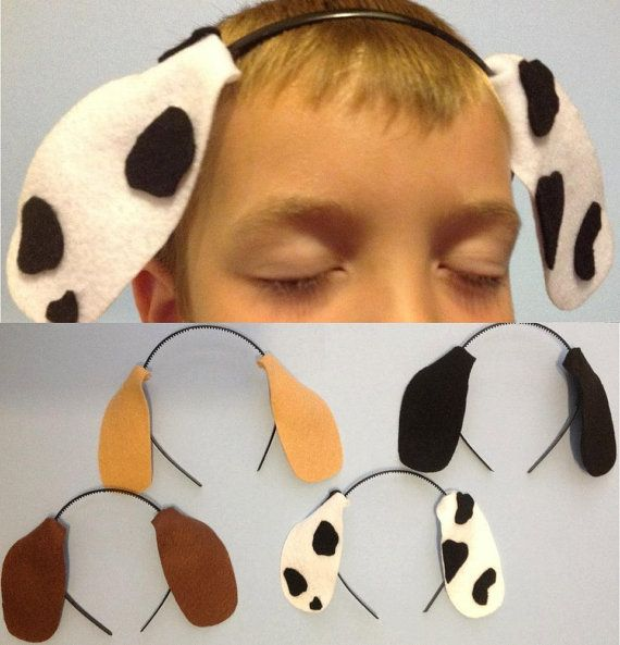 Puppy Dog Ears Headbands Birthday party favors | For Master Jack | Pinterest | Dog ears costume ...