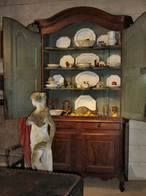 Antique Country French buffet a deuxcorps