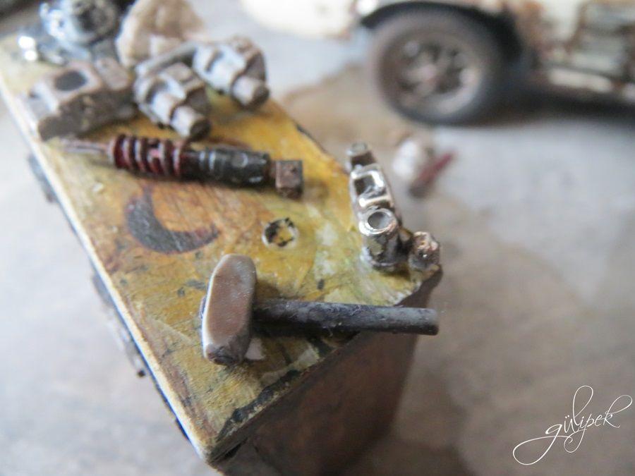 Car tool kit,diorama handmade ,auto repair vintage | DİORAMA ...