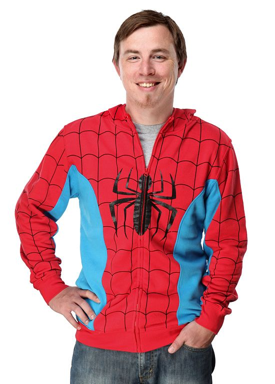 ThinkGeek  Spider-man Costume Hoodie  sc 1 st  Pinterest & ThinkGeek :: Spider-man Costume Hoodie | Moda para Chicos ...