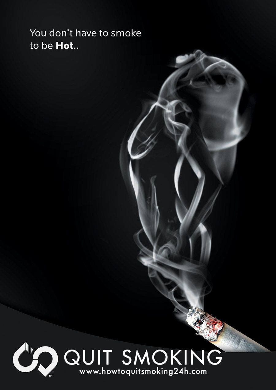 anti smoking campaign poster design by baryza com on quit smoking poster 8