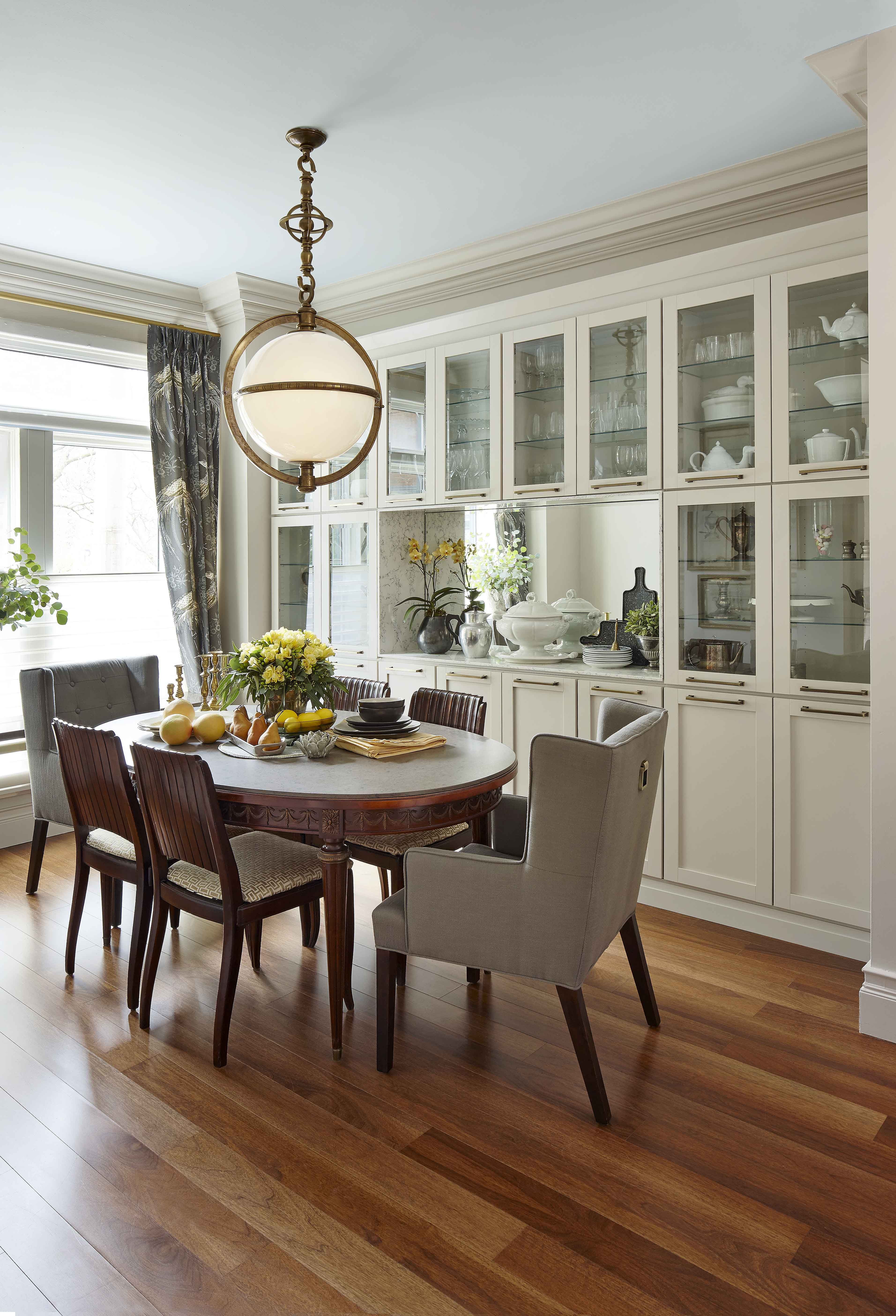 Before and After  Feast Your Eyes on This Dining Room Makeover. Before and After  Feast Your Eyes on This Dining Room Makeover