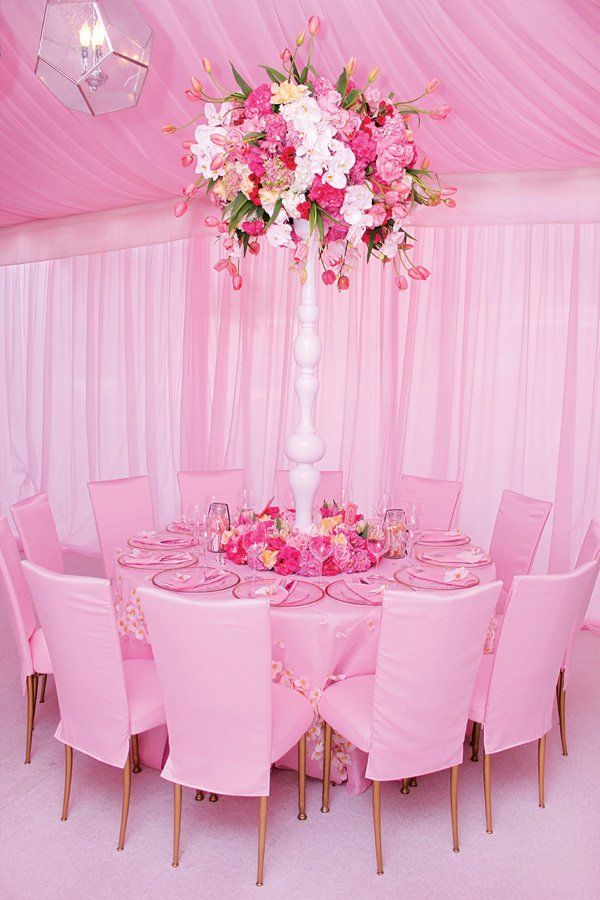 elegant pretty in pink baby shower amazing florals