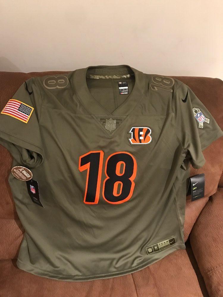 Nike Cincinnati Bengals A.J Green Salute To Service Jersey NFL ...