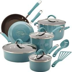 Basics 12 Piece Stainless Steel Cookware Set