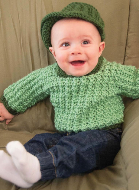 Adorable baby #crochet in new book by Tammy Hildebrand
