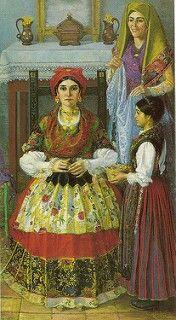 Cesare Cabras - La sposa, 1923