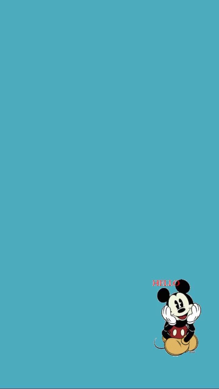 Templates + Gifs Fofos  - Hello Mickey | Carina Brandão Stories 💜