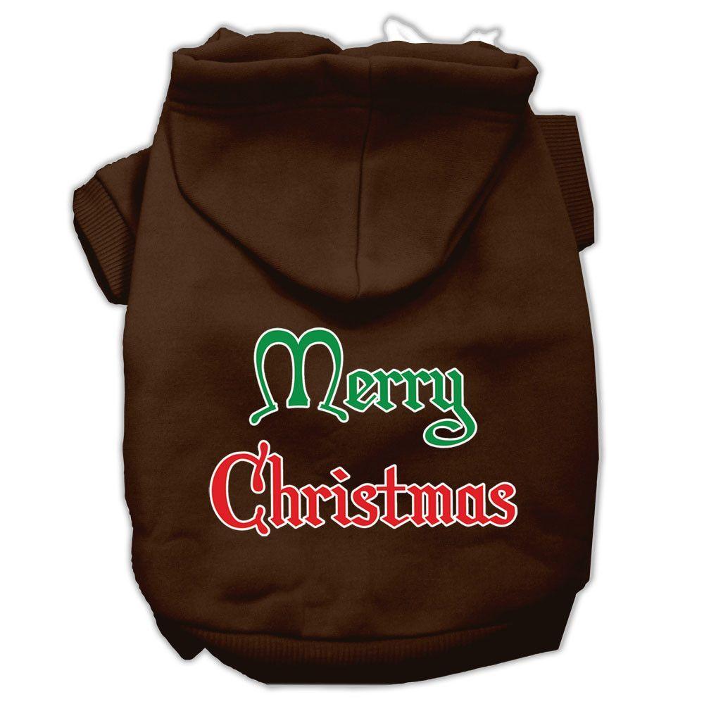 Mirage - Merry Christmas Dog Hoodie