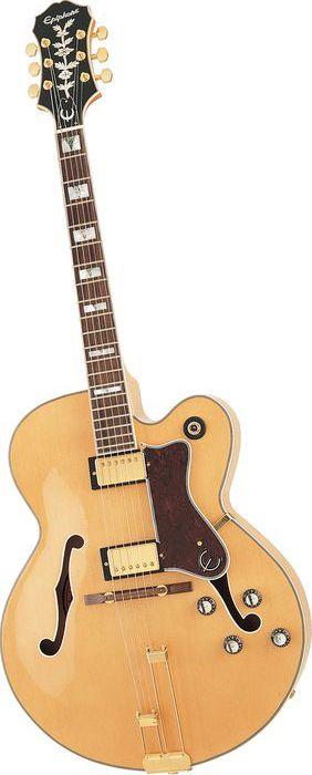 epiphone broadway electric guitar natural guitars amplifiers epiphone acoustic guitar. Black Bedroom Furniture Sets. Home Design Ideas