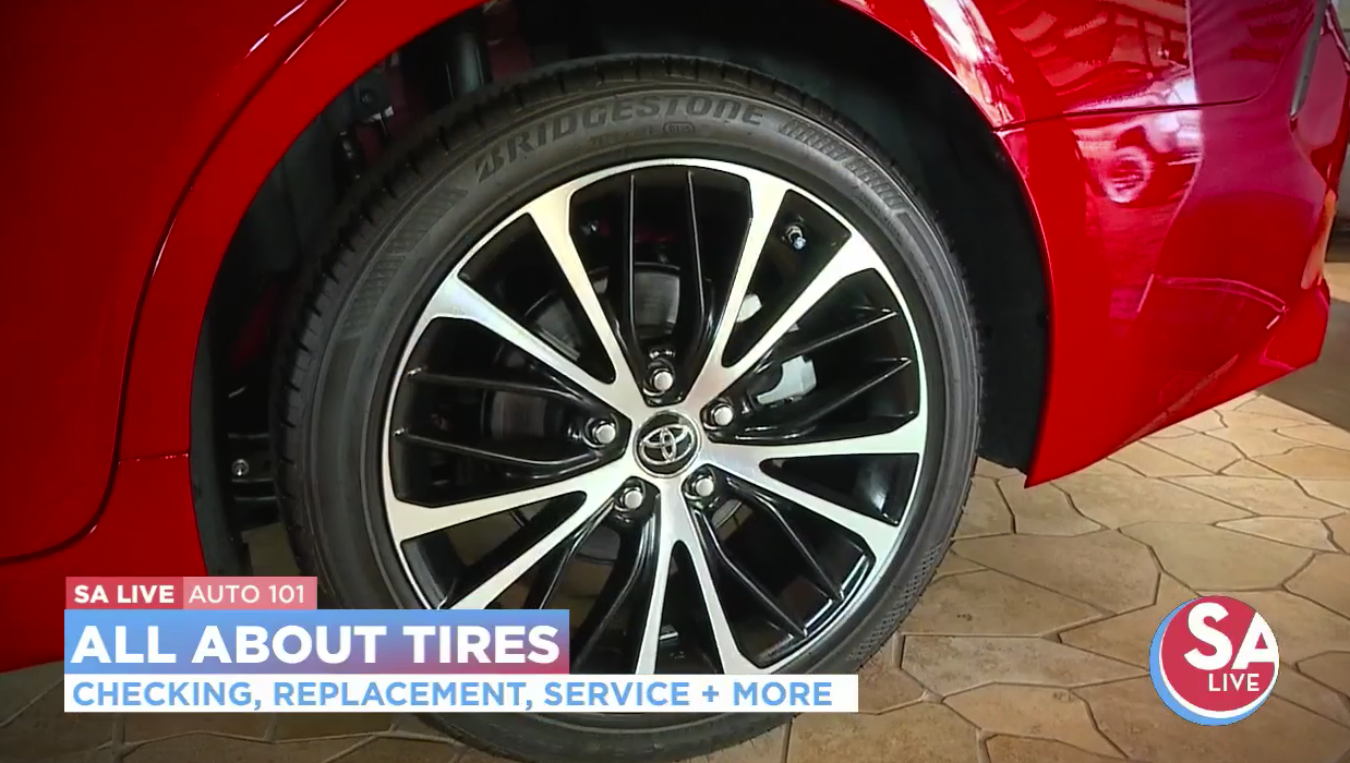 Auto 101 Tips on tire safety Tire safety, Auto, Tire