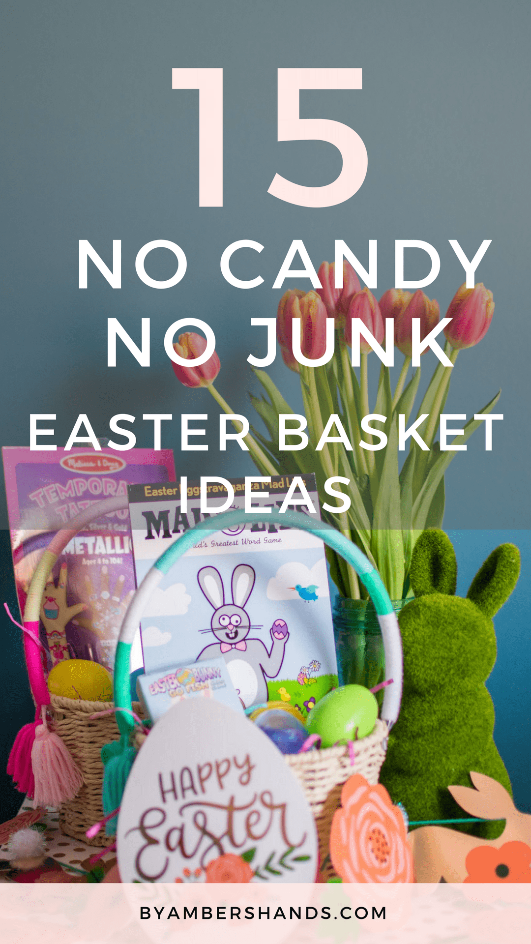 15 No Candy No Junk Easter Basket Ideas Your Kids Will Love Easter Baskets Kids Easter Basket Easter Gifts For Kids