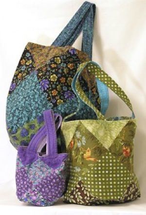 FREE Schlep Bag Pattern | Heirloom Creations | quilts | Pinterest ... : quilted purse pattern free - Adamdwight.com