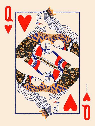 Card erotic playing