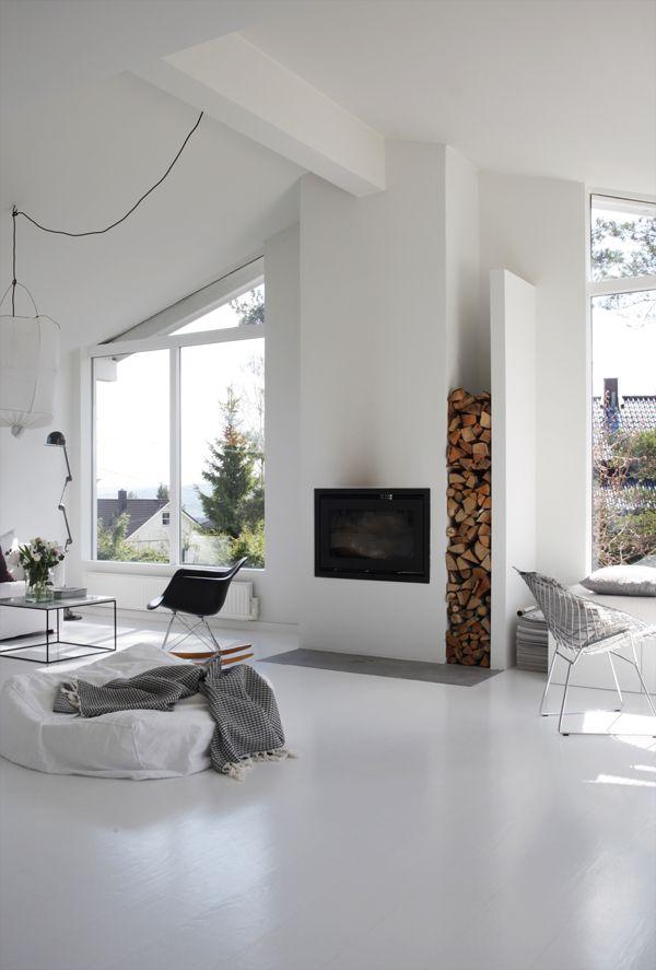 Pin de javier en casas Pinterest Diferentes tipos de, Hostal y Leña - tipos de chimeneas