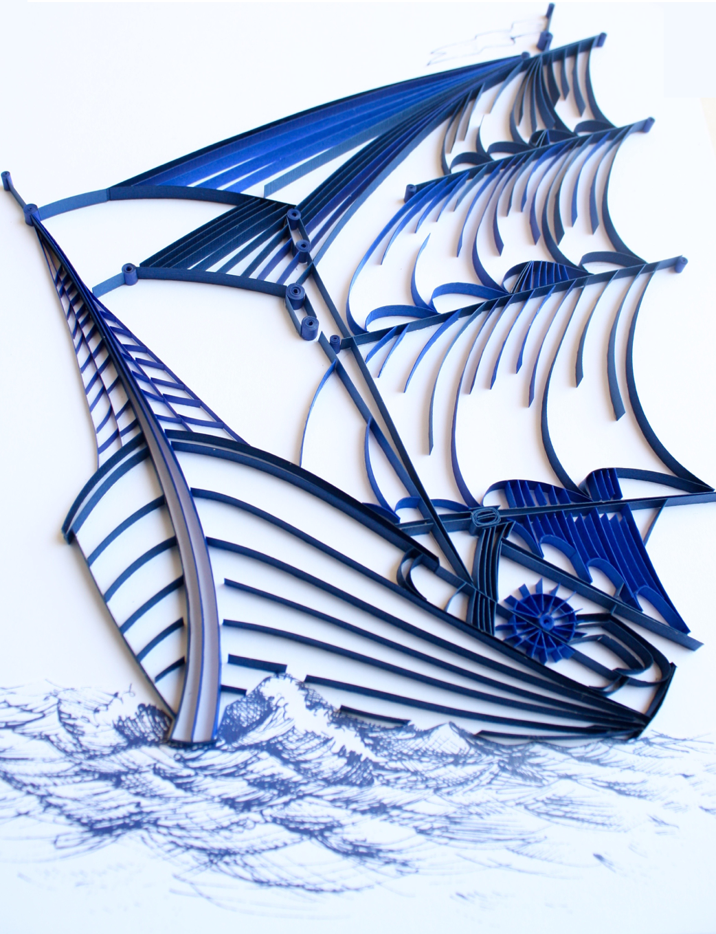 ship drawing paper - photo #33
