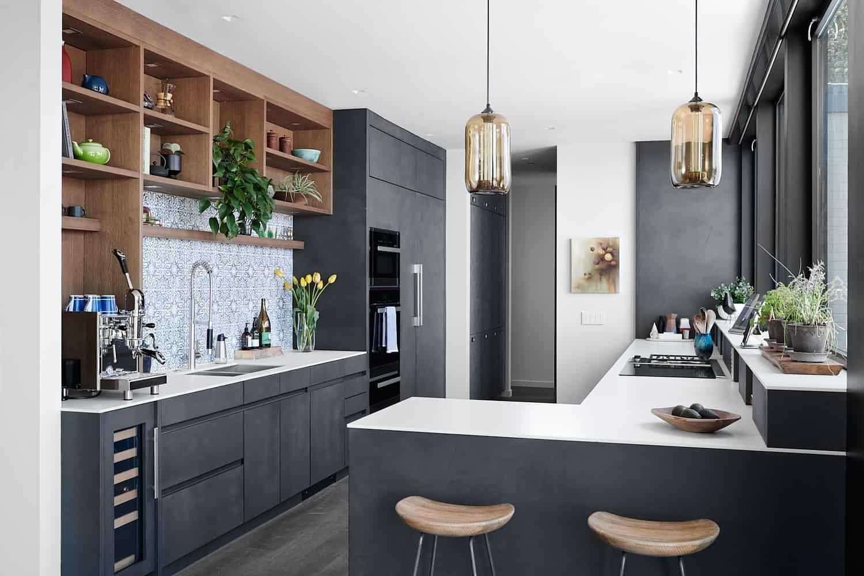 midcentury modern house gets inspiring makeover in northern california mid century modern on kitchen ideas modern id=72898