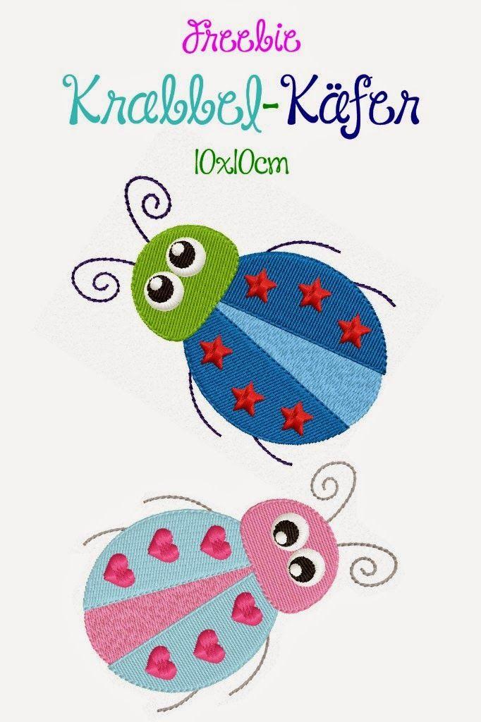 Die Krabbel Krabbe Applique Loves Pinterest Embroidery