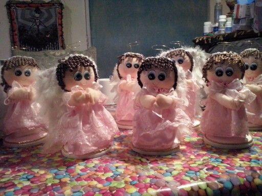 Angelitas de bautismo