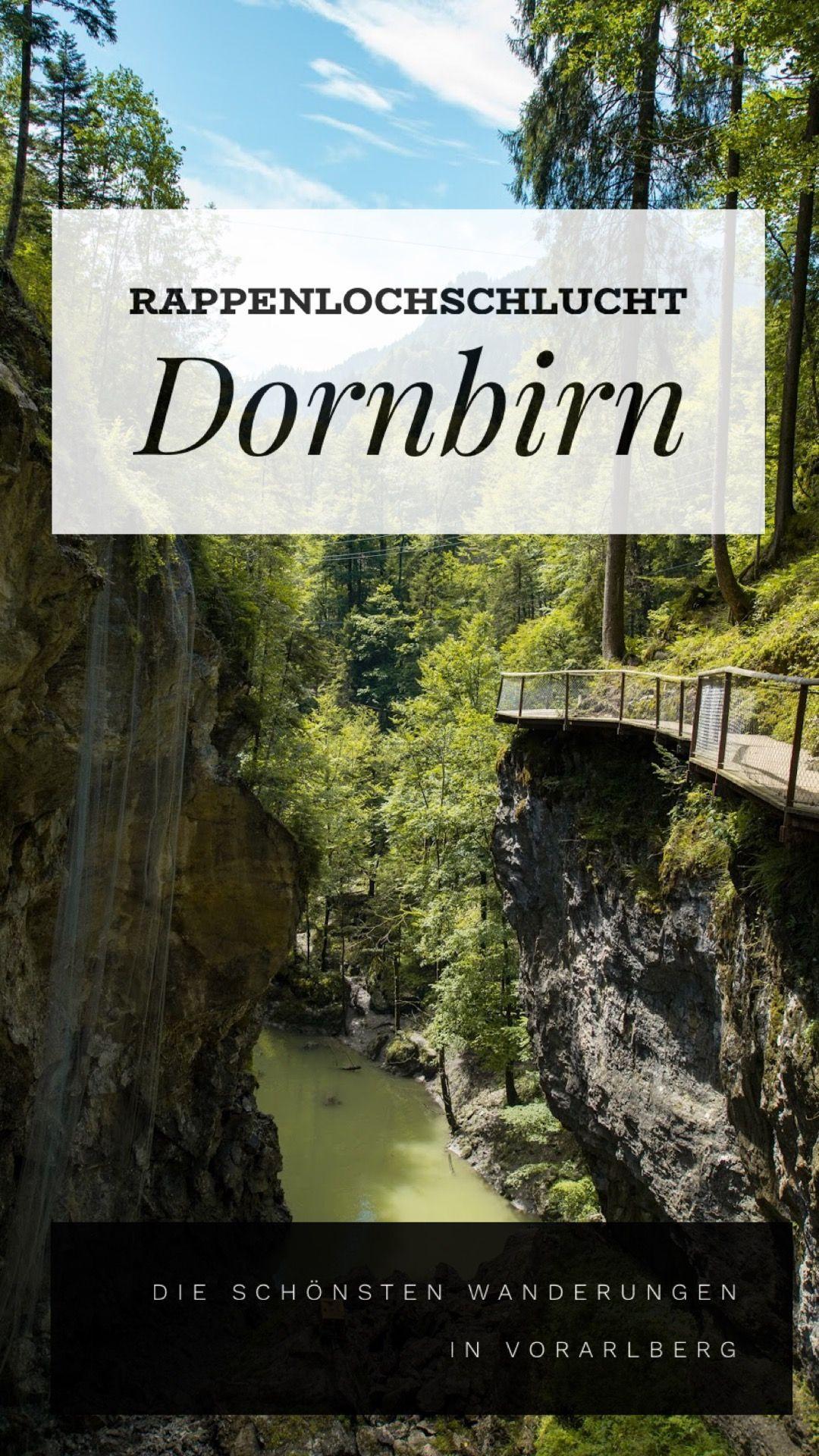 Rappenlochschlucht und Staufensee   Wandern Dornbirn #aroundtheworldtrips