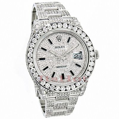 from on xl sale roadster chronograph a diamond mens watches for seller cartier diamonds xxl htm