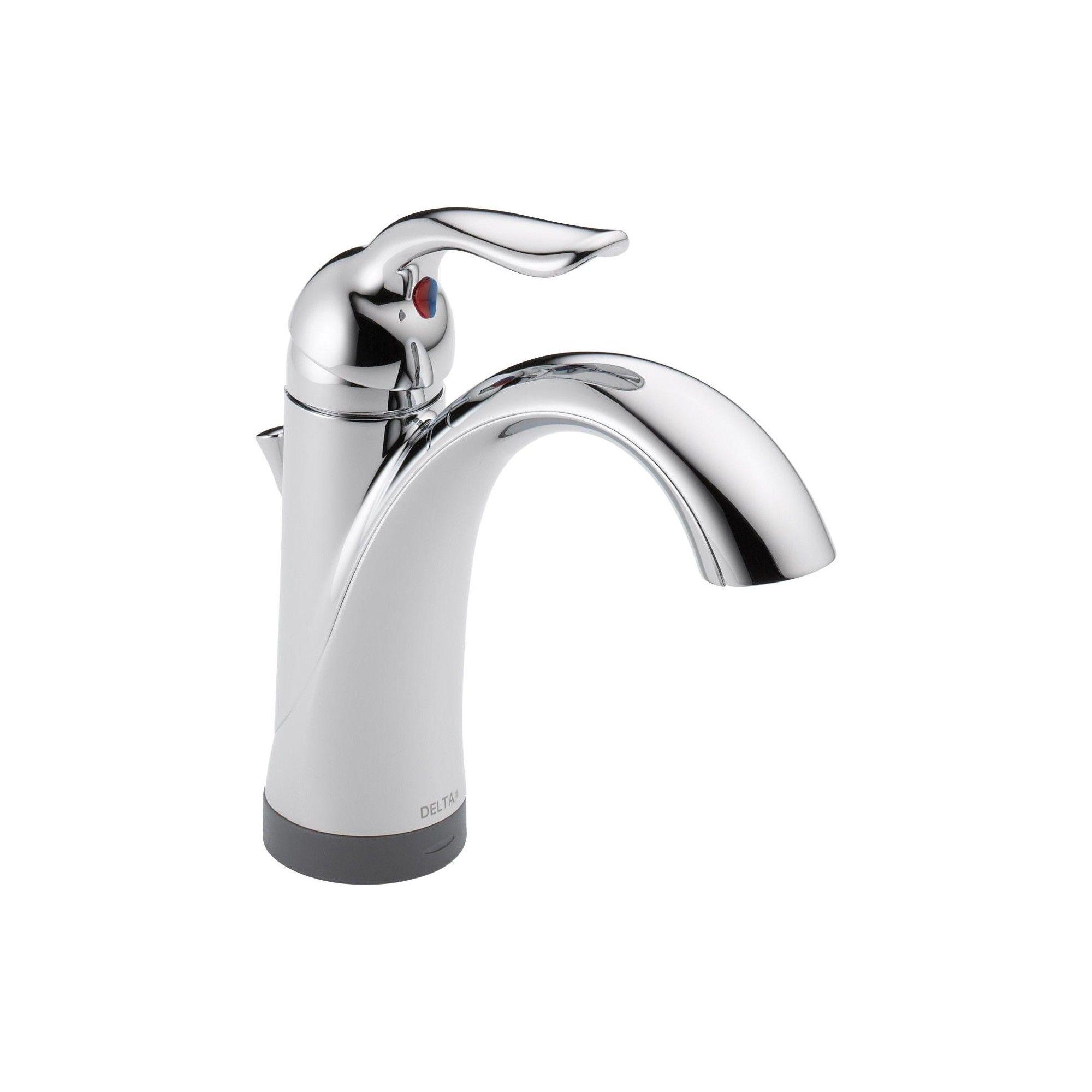 Delta Bathroom Faucets.Delta Faucet 15938t Dst Lahara Single Hole Bathroom Faucet