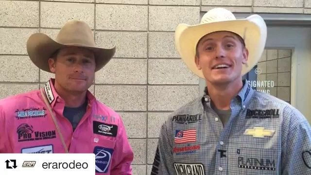 #Repost @erarodeo: We've got @tufcooper with @tysondurfey wins the first round of the @daysof47rodeo with a 7.46! #LeagueOfChampions #ERAracetoDallas