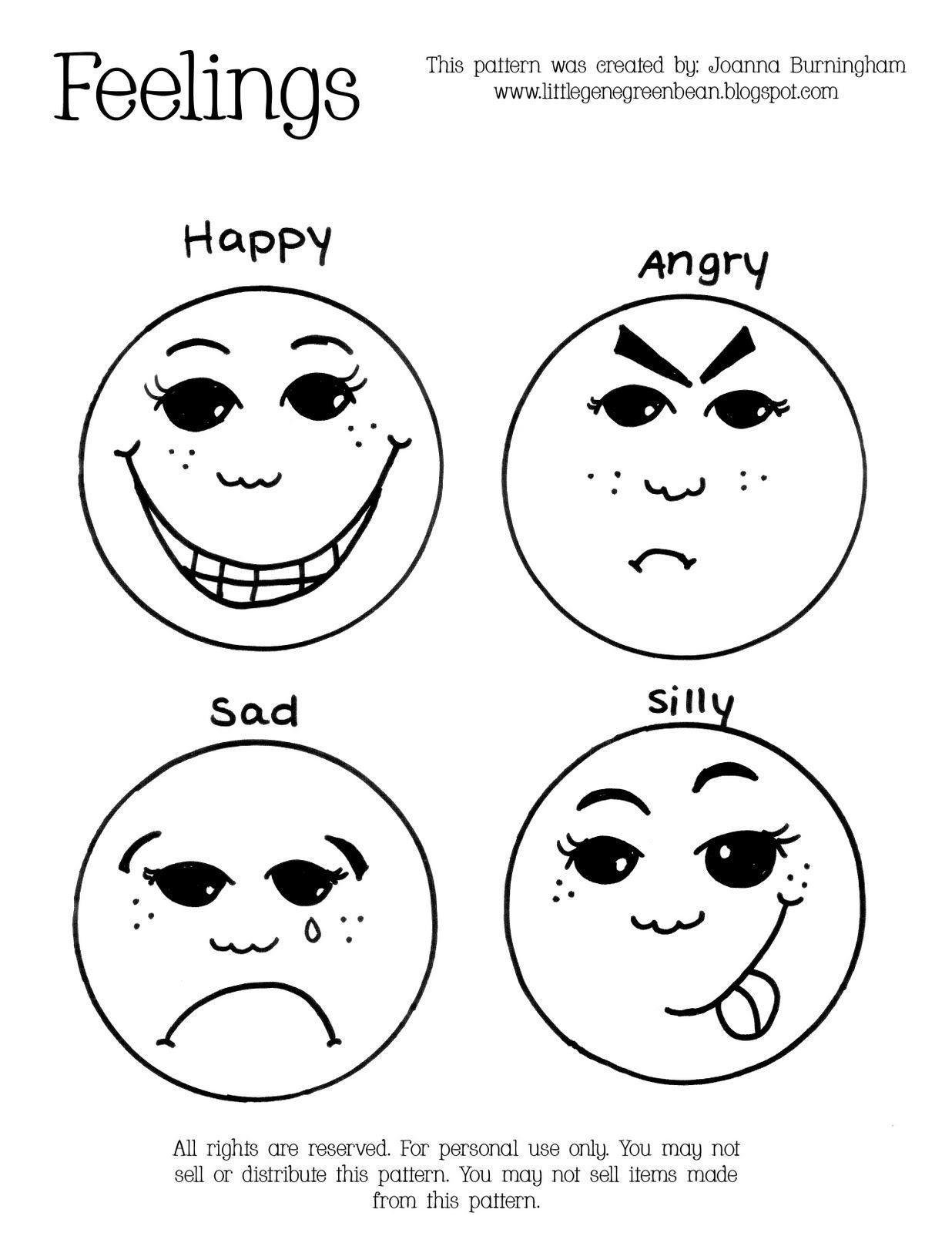 Emotions Printable