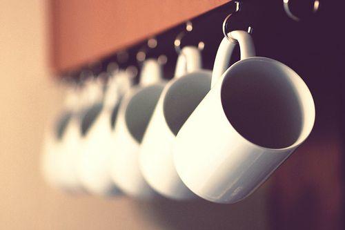Morning Coffee Hanging Mugs