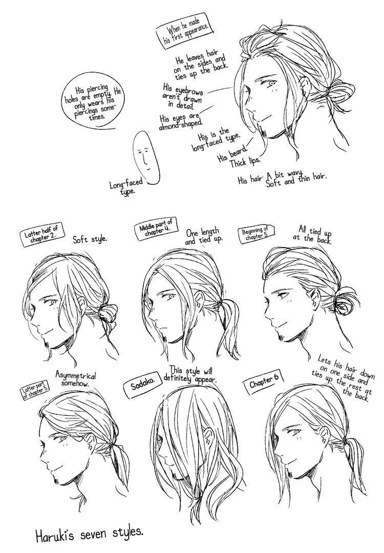 Given Nakayama Haruki Anime Boy Hair Long Hair Styles Men Anime Long Hair