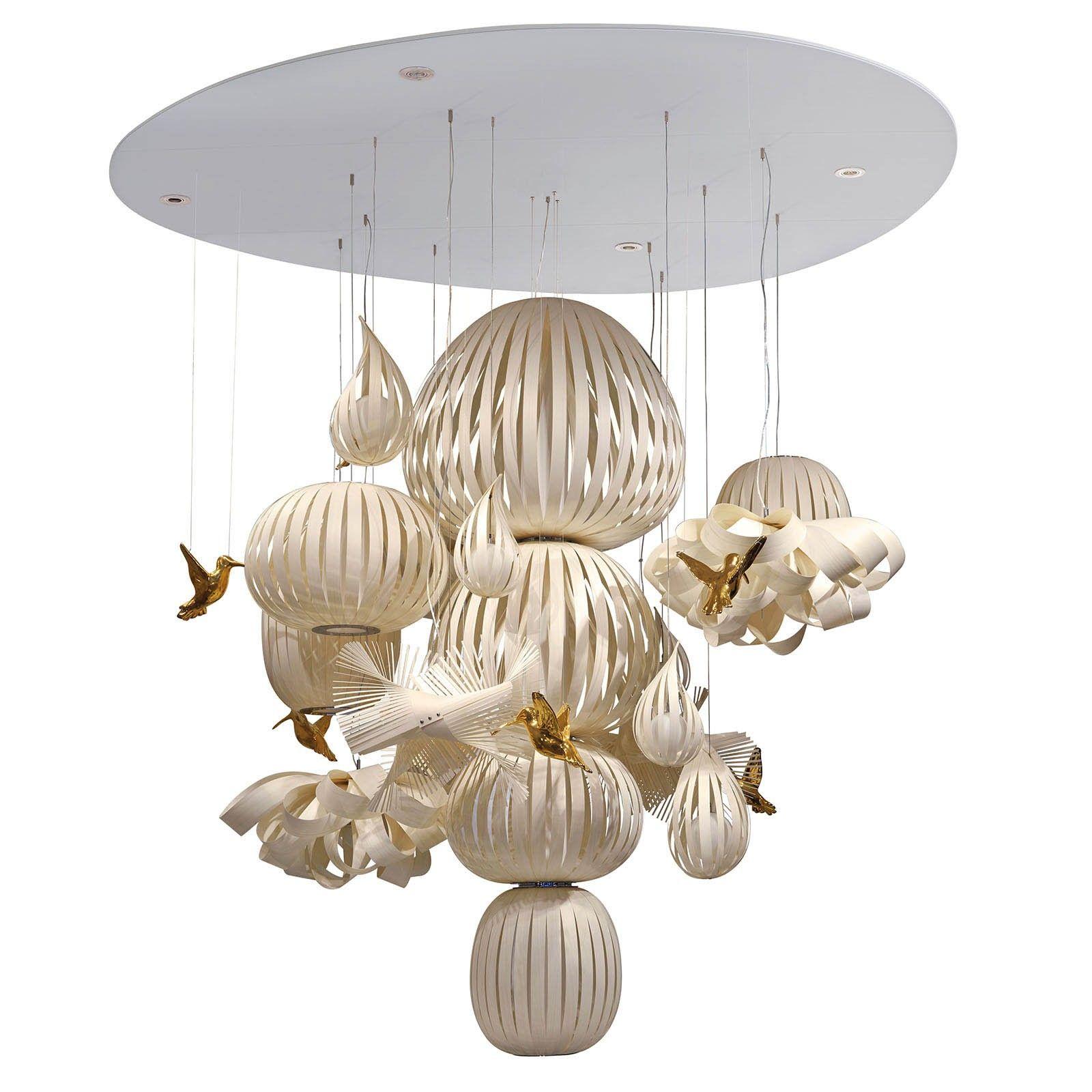lzf marivi calvo candelabro suspension light designer