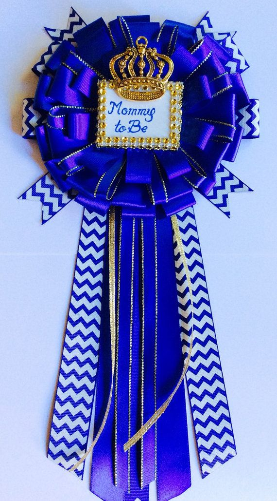 royal blue baby shower mommy to be pin little prince corsage royal blue baby shower mommy to be royal prince mommy pin