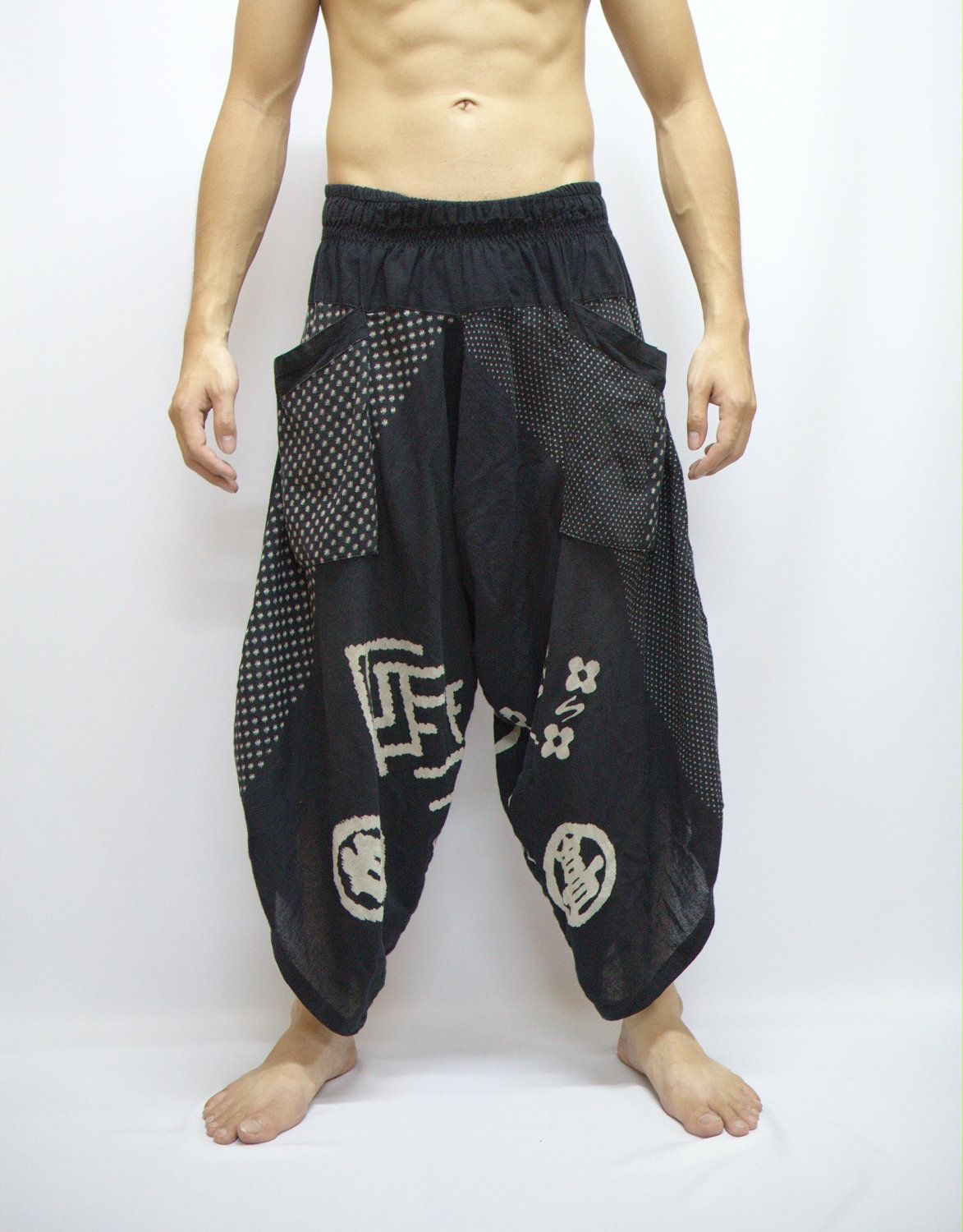Japanese Style in Samurai Pants  1aff176dcb93