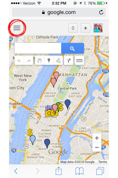 How To Create A Custom Travel Map With Google Maps New Google My - Create my travel map