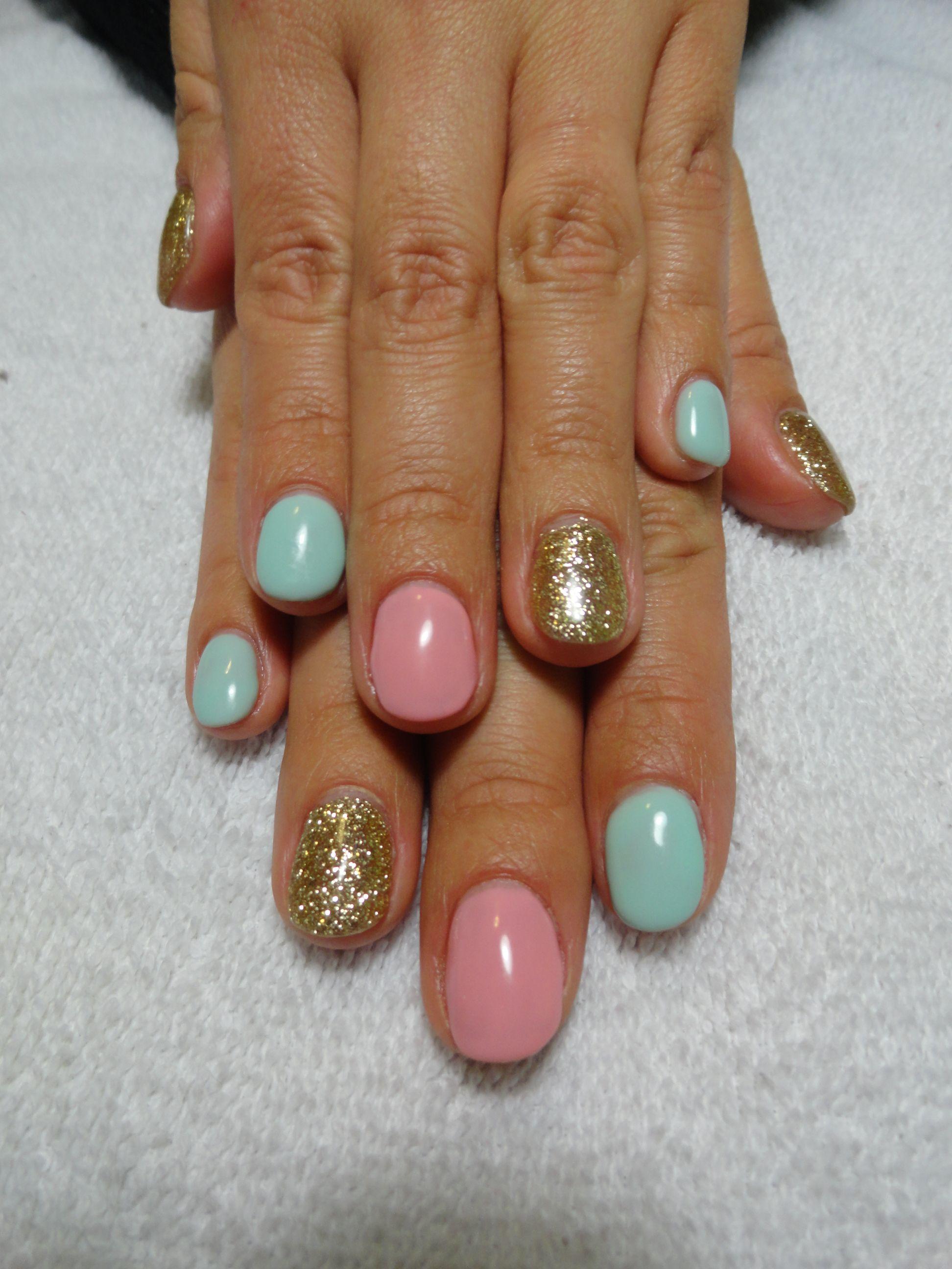 Spring Nail Trends: Spring/Easter Gel Nails!