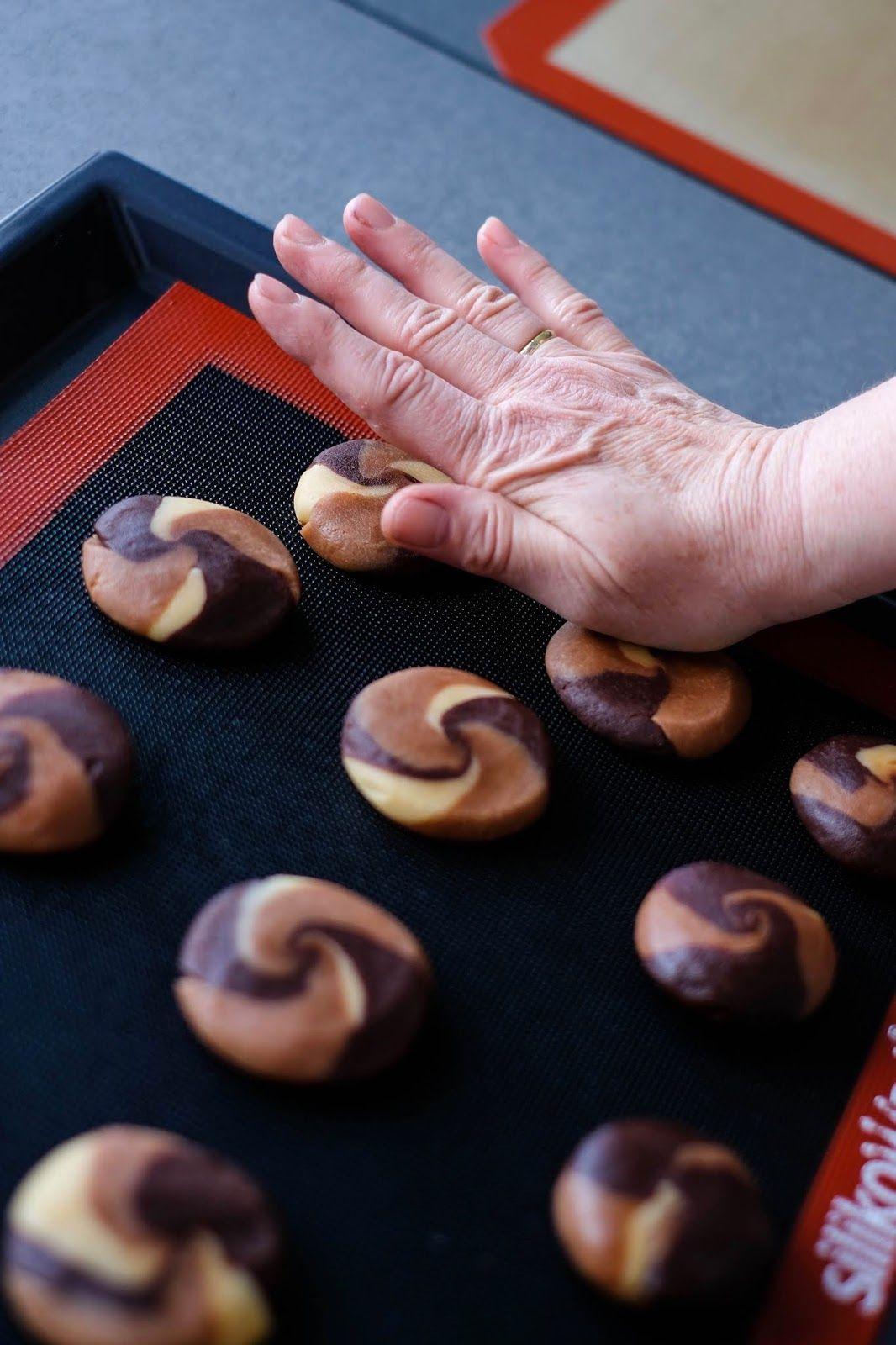 Nutella, Vanille und Schoko Cookies | Marion's Kaffeeklatsch #kuchenkekse
