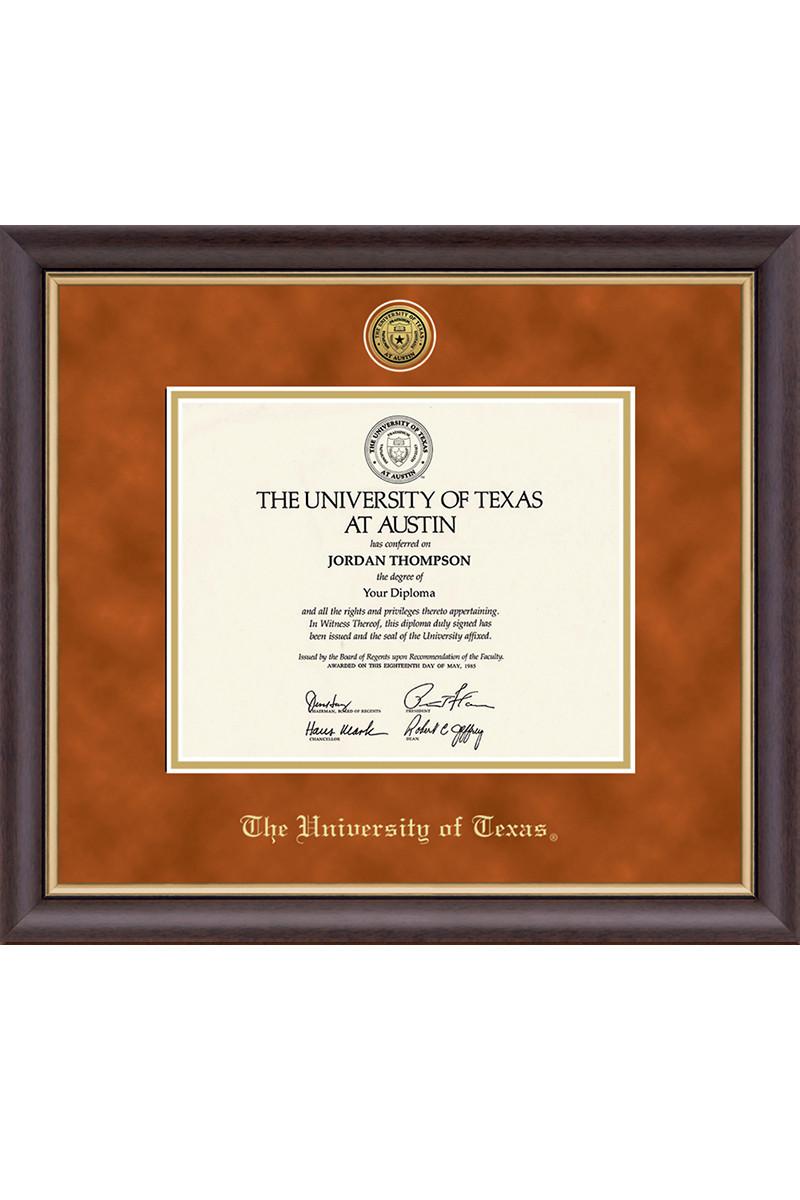 University Of Texas College Name Diploma Frame Co Op Diploma Frame College Names Frame