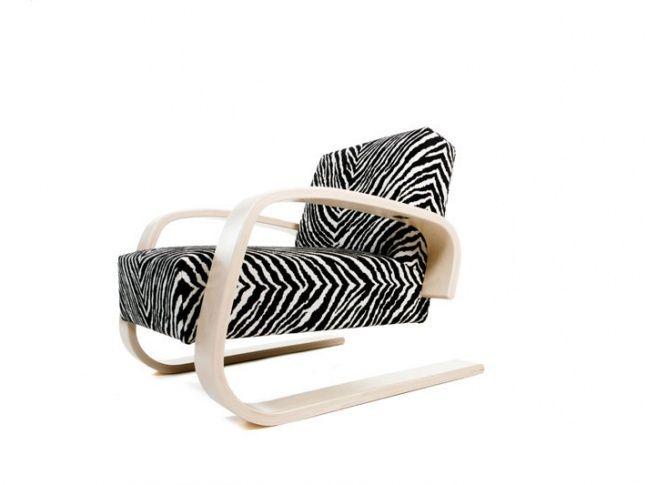 Armchair 400. Design: Alvar Aalto.