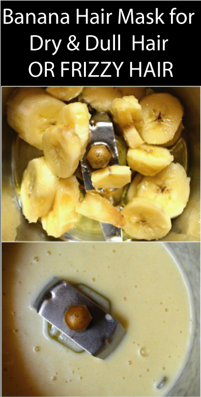 Soft And Smooth Hair With Banana Hair Mask For Dry Dull Hair
