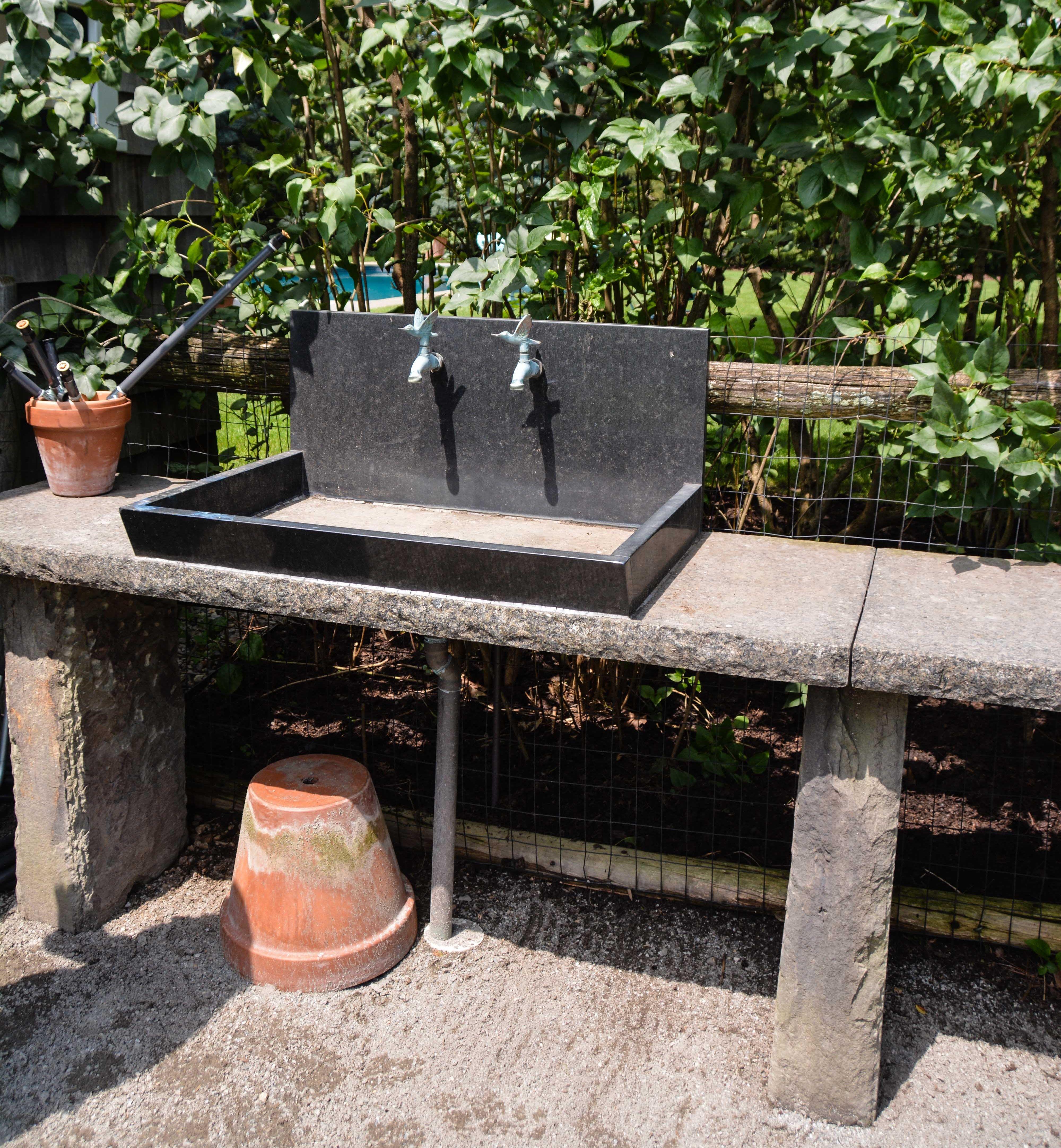 Great Garden Design - Outdoor Sinks. well designed outdoor ... on Outdoor Patio Sink id=83913