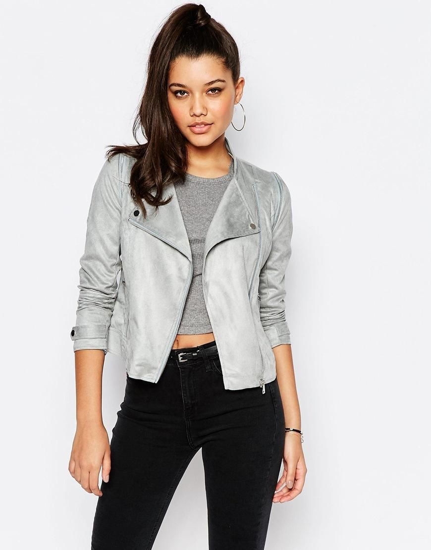 River Island Leather Jeans