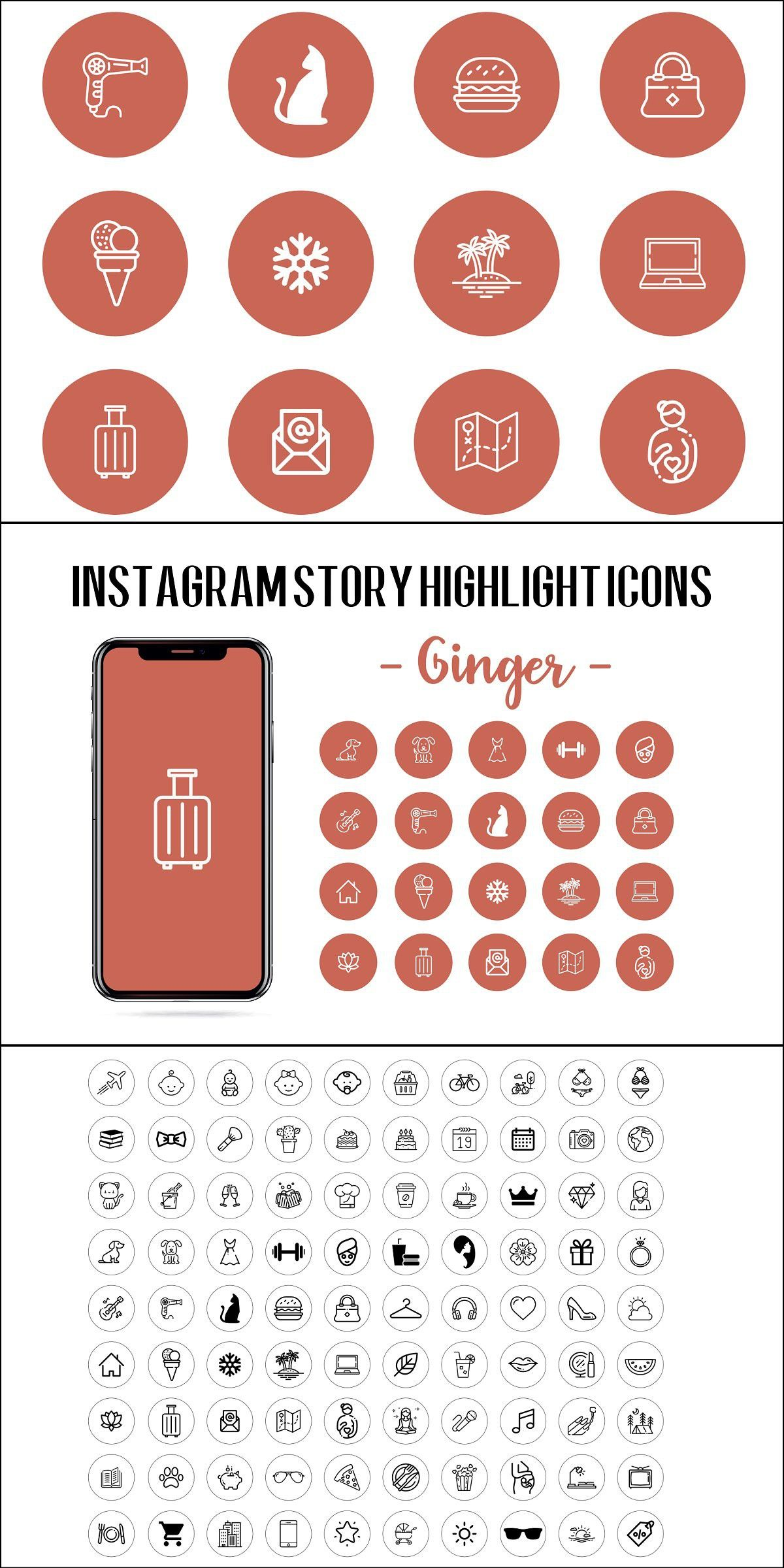 Instagram Story Highlight Icons (With images) Instagram