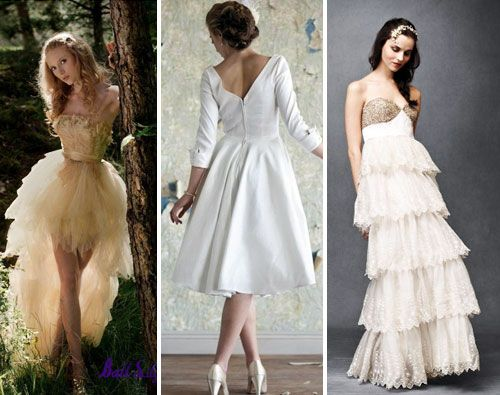 16 Non-Traditional Wedding Dresses for the Modern Bride via Brit + ...