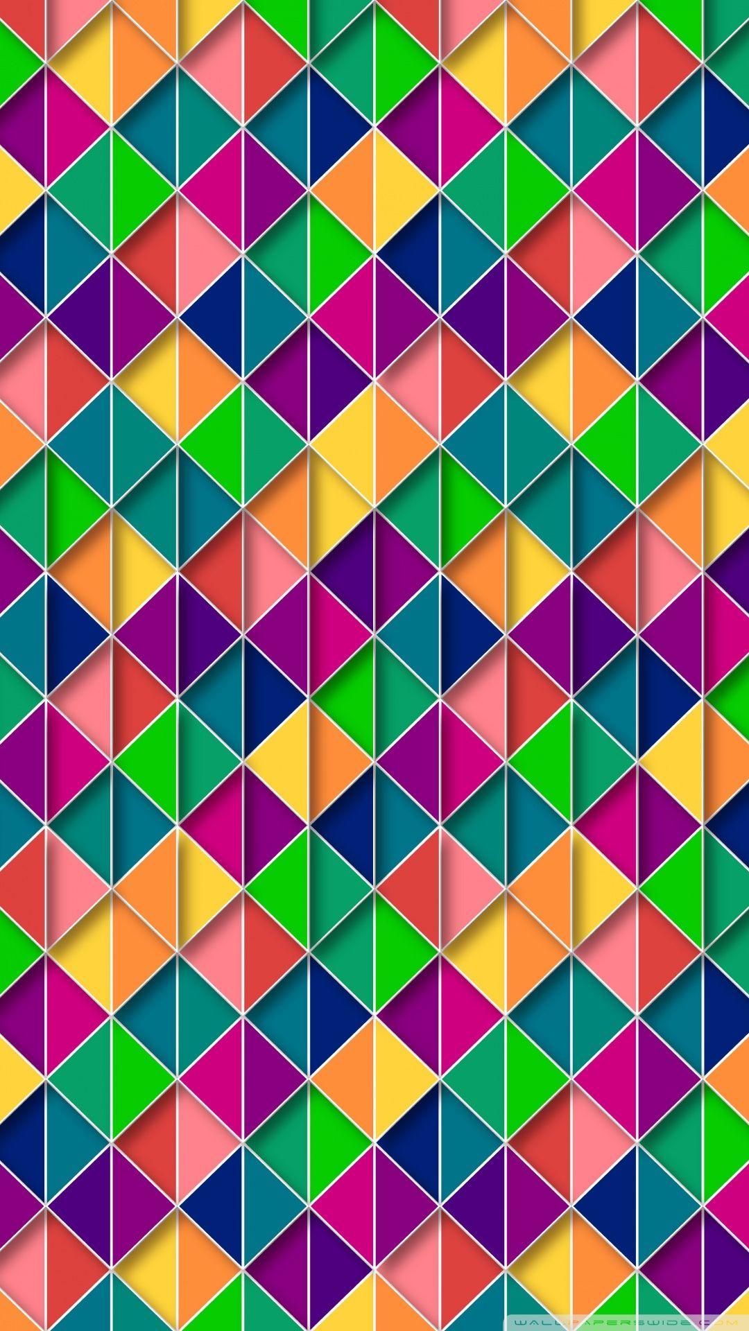 Colorful Pattern Wallpapaer Hd Wallpaper Android Rainbow Wallpaper Pattern Pictures Android Wallpaper