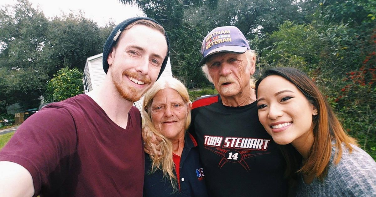 UCF couple gives homeless veteran Christmas to remember