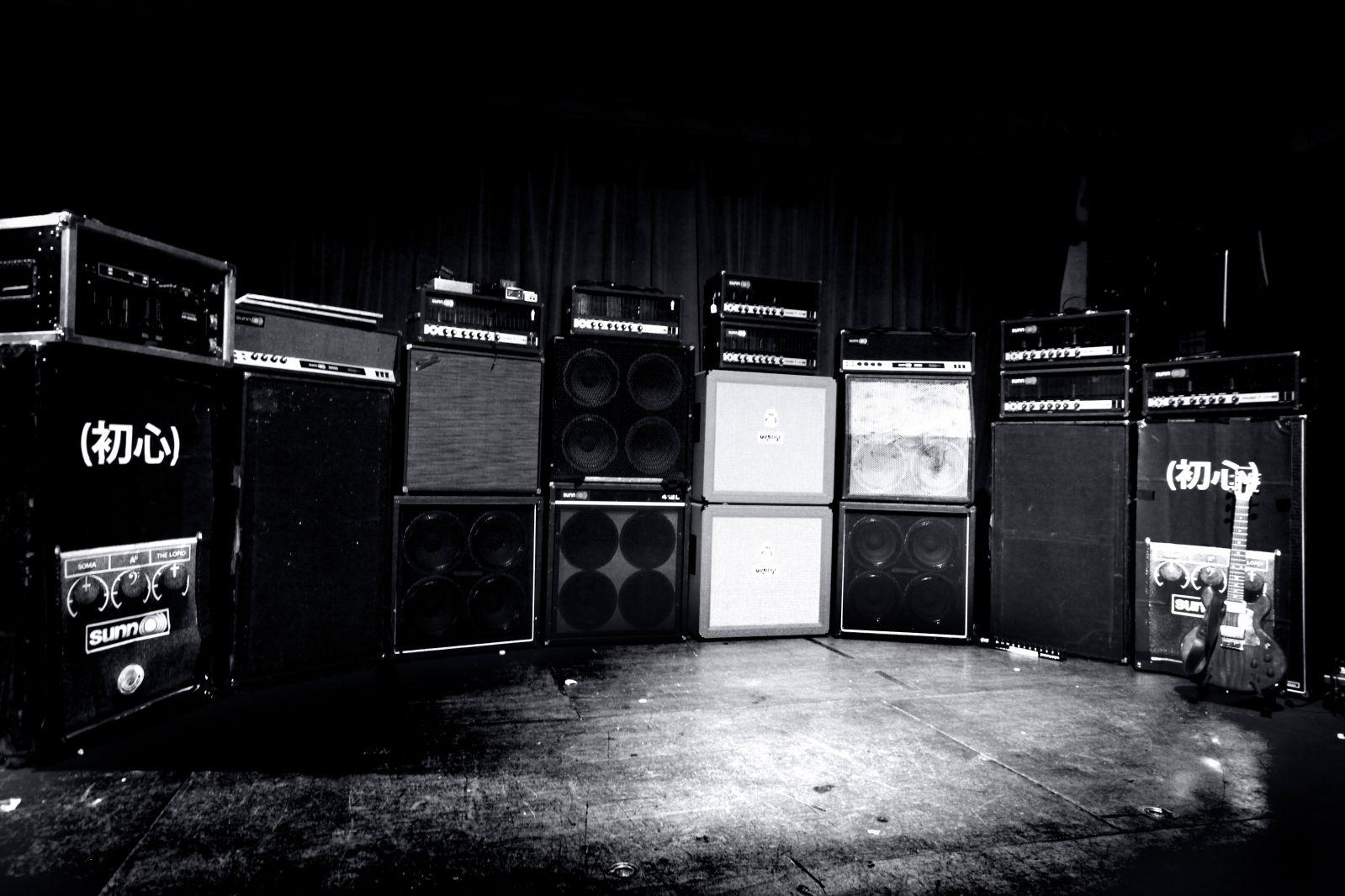 Guitar Amp Wallpaper Wallpapersafari Wall Of Sound Guitar Amp