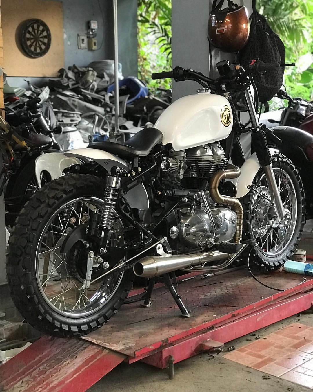 Rad Royalenfield Tokwapartygarage Scrambler