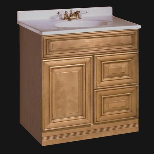 Pace Plantation Series X Vanity With Drawers On Right