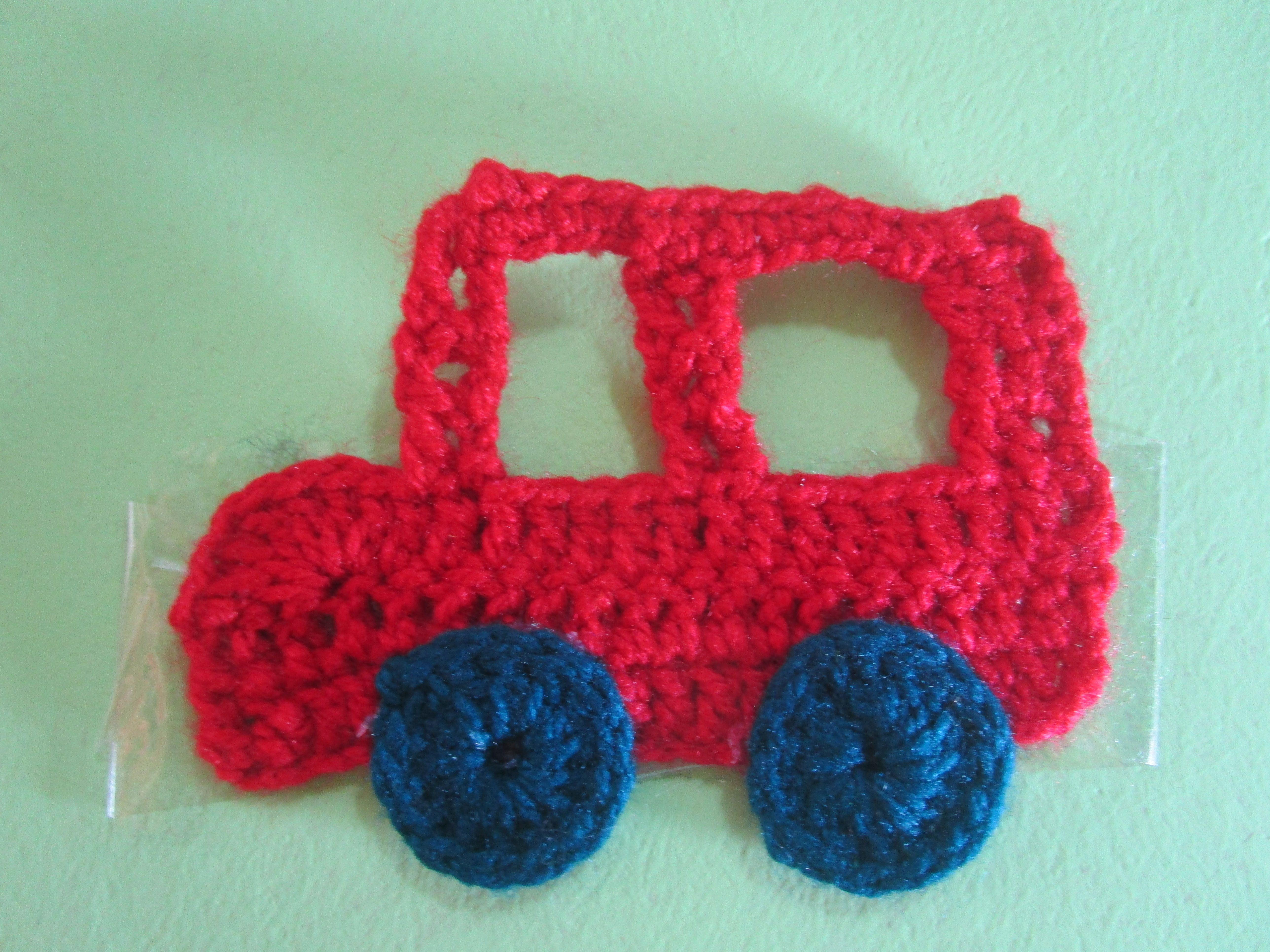 Carrito Tejido a Crochet | APLICACIONES Modelos Variados Tejidos a ...